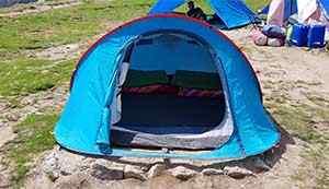 Camping at Triund Trek