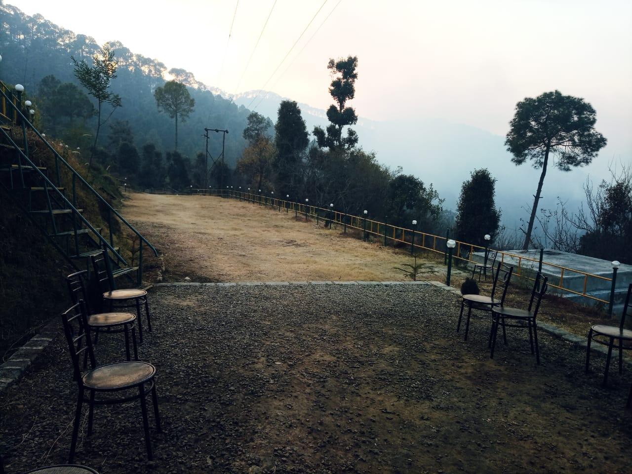 Camping in Bhimtal nature