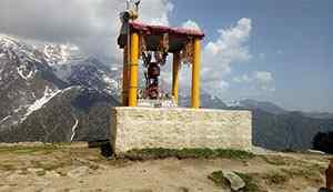 Shiva Temple Triund Trek